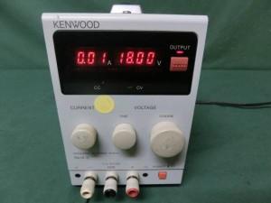 ケンウッドの直流安定化電源 PA18-3