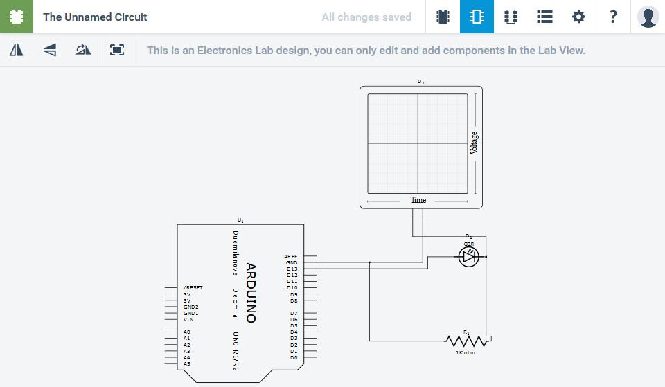 123D Circuits_2 回路図