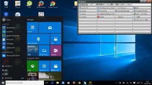 Windows 10 スクリーンショット